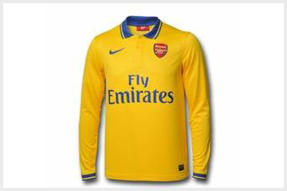 Arsenal Football Club Away Shirt