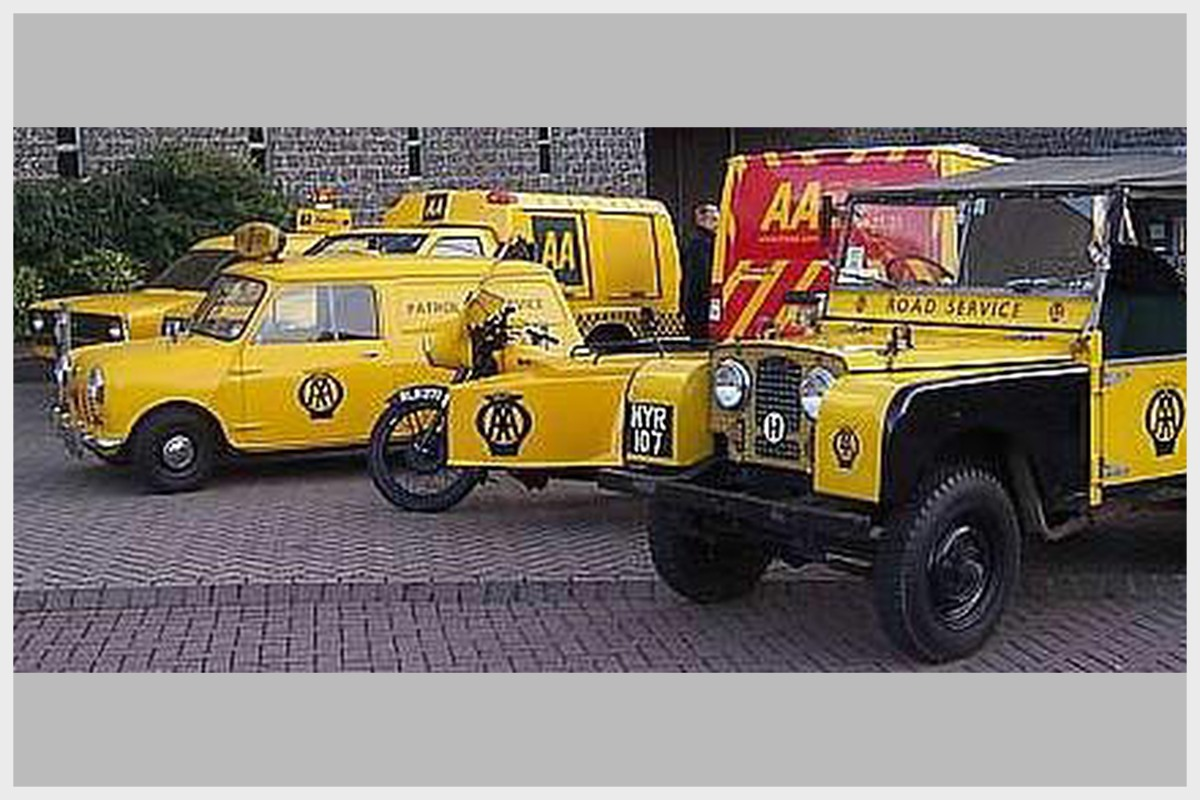 Collection of Historic AA Vehicles