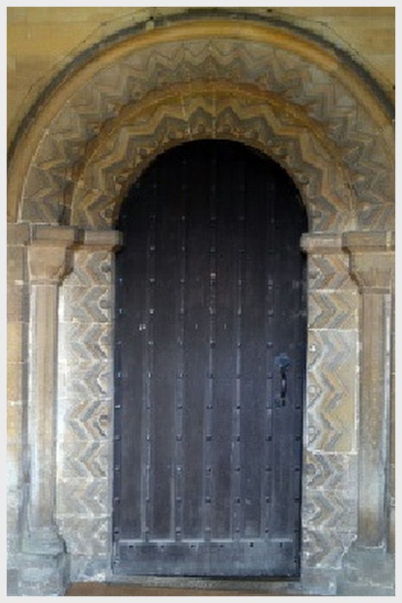 Cottesmore Church 12th Century Inner Doorway