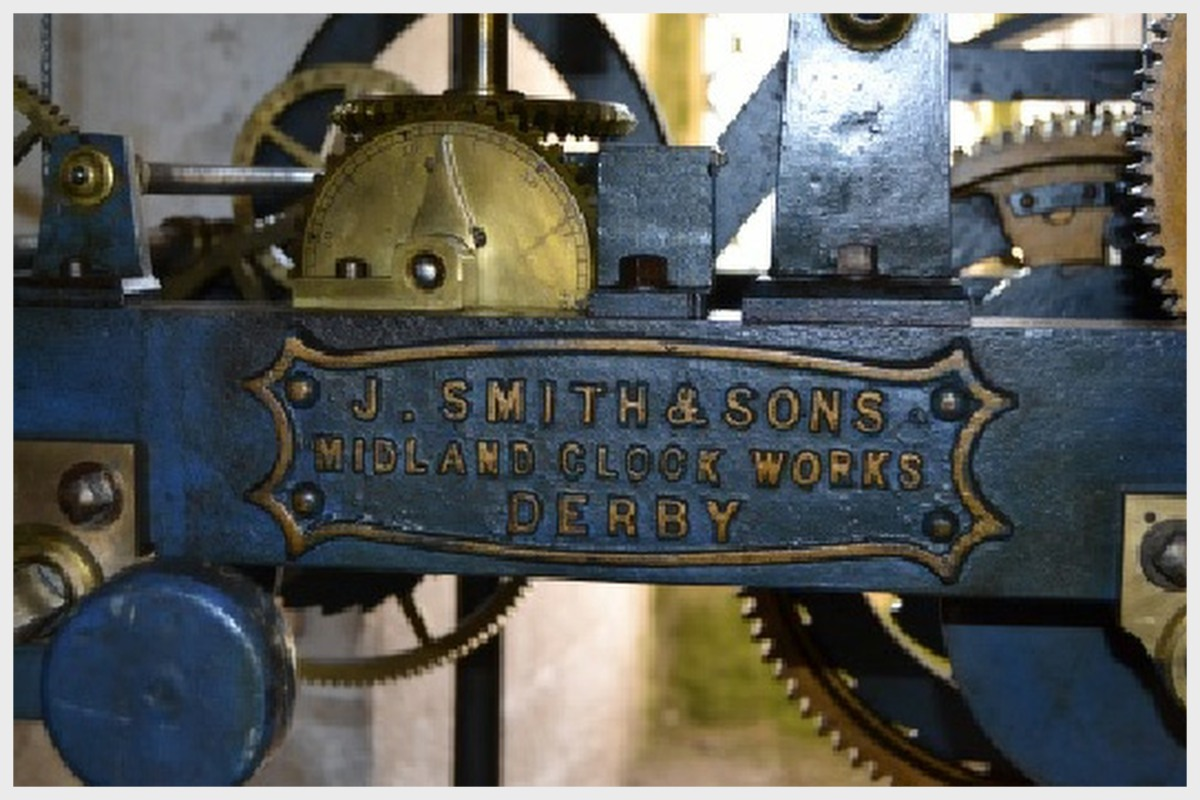 Cottesmore Church Clock Mechanism J Smith and Sons Midlands