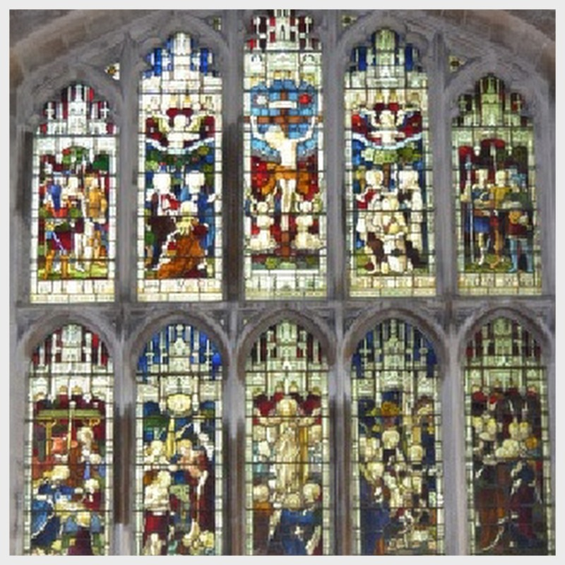 Cottesmore Church East Window Memory Godfrey Stuart