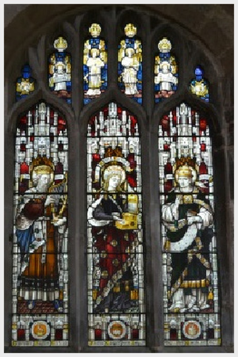 Cottesmore Church Stained Glass Window