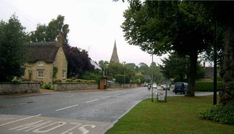 cottesmore village rutland main street new
