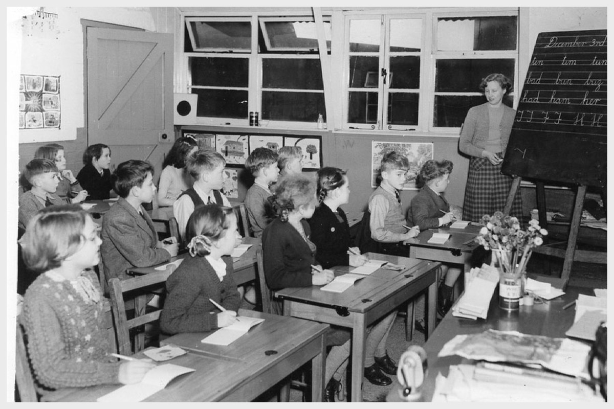 cottesmore raf camp school 1948