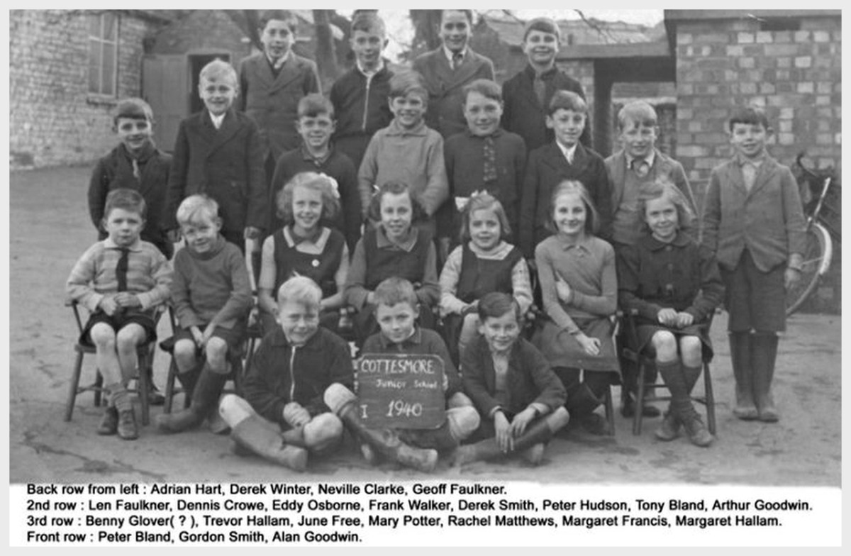 cottesmore village school 1940
