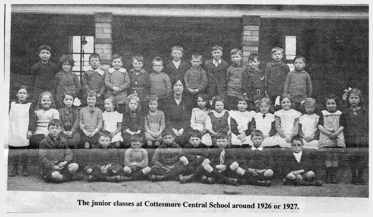 cottesmore village school junior class 1926